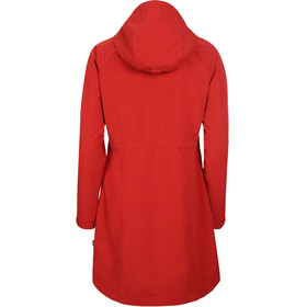 Elkline On Air Rain Coat Women truered